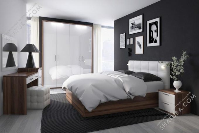 Коллекция мебели для спальни Rimini Bosco