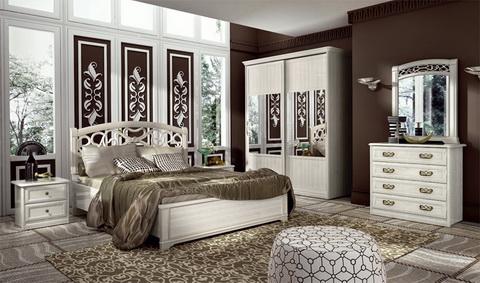 Коллекция мебели для спальни Tiffany ясень