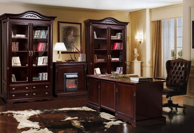 Коллекция мебели для кабинета Паола