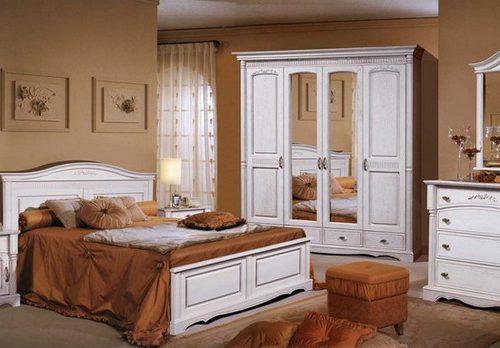 Коллекция мебели для спальни Паола