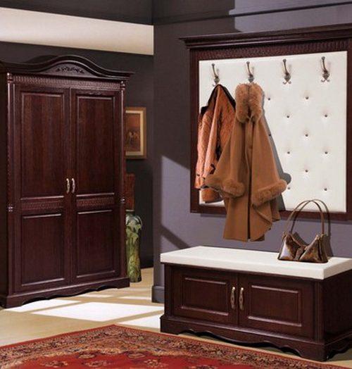Коллекция мебели для прихожей Паола