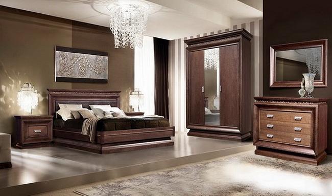 Коллекция мебели для спальни Сальери