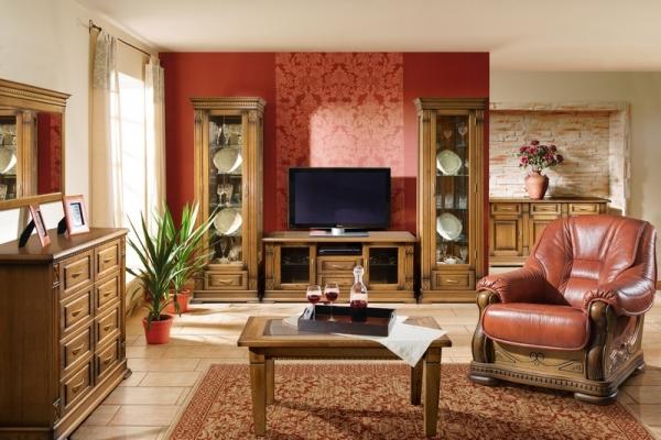 Коллекция мебели для гостиной Верди Люкс