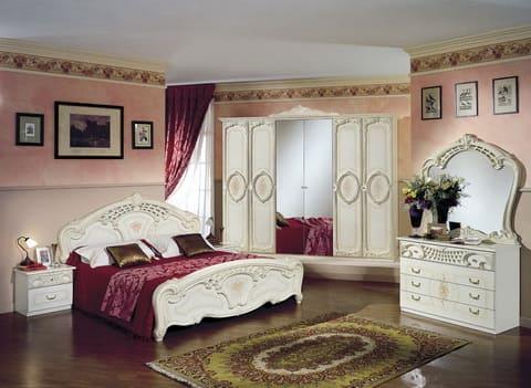 Коллекция мебели для спальни Роза