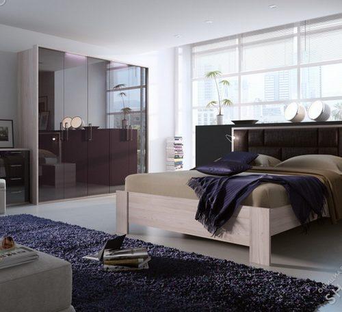 Коллекция мебели для спальни Rimini Mokko