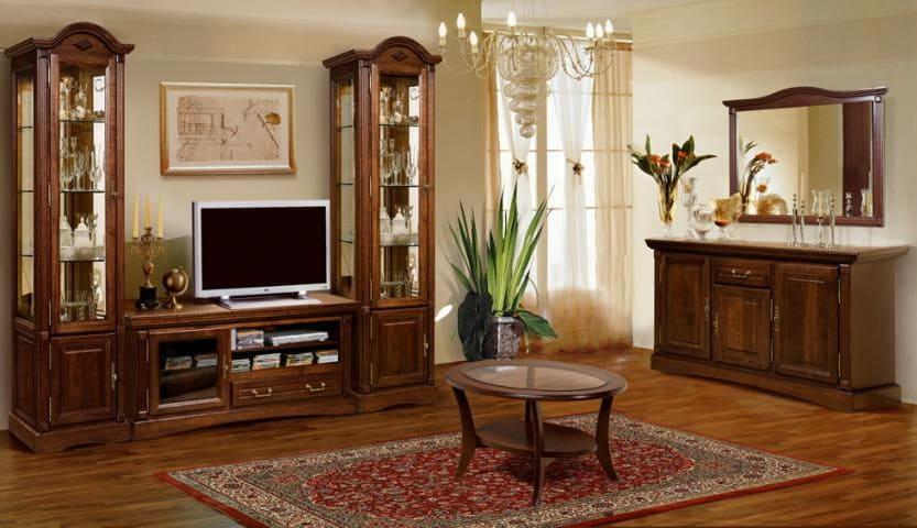 Коллекция мебели для гостиной Рубин