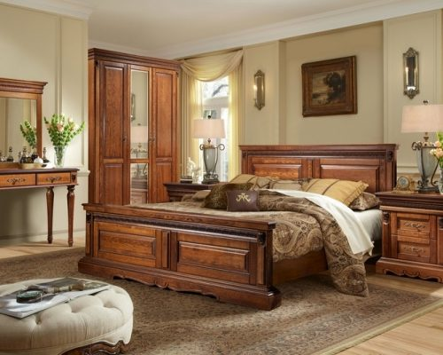 Коллекция мебели для спальни Милана