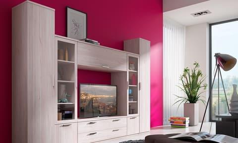 Коллекция мебели для гостиной Flash светлая
