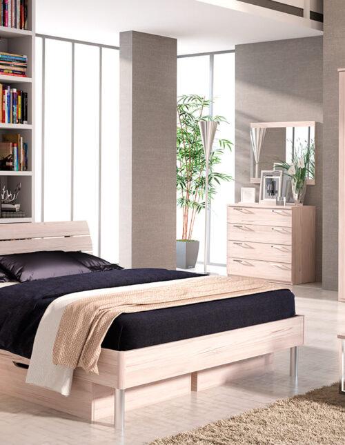 Коллекция мебели для спальни Flash светлая