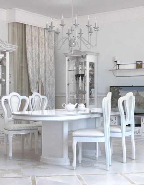 Коллекция мебели для гостиной Роза