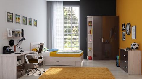Коллекция мебели для молодежной комнаты Rimini Mokko
