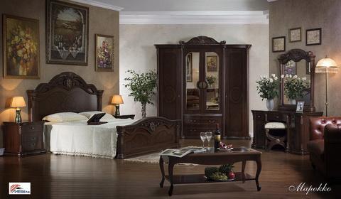 30х40 Спальня Марокко