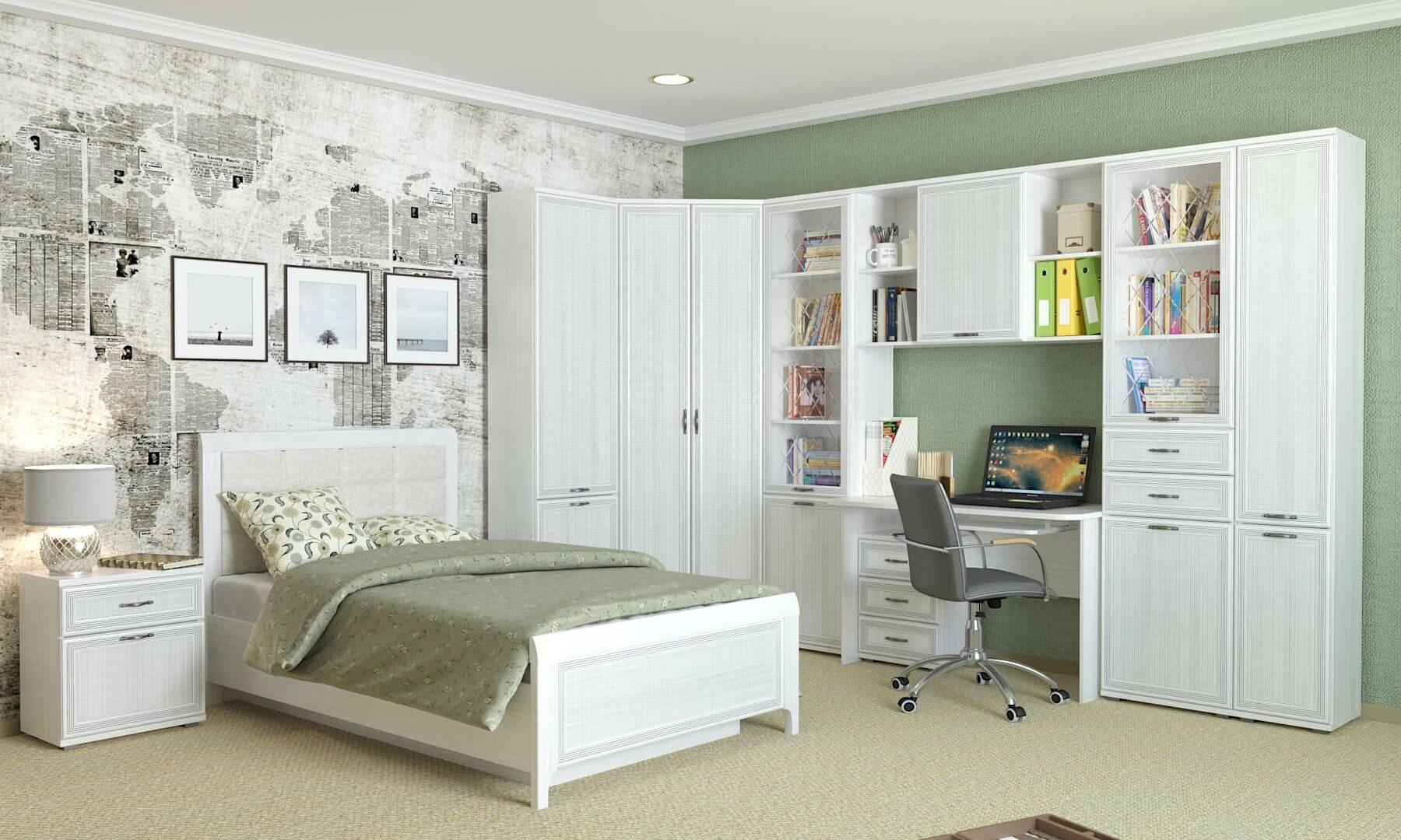 Коллекция мебели для детской (молодежной) комнаты Карина