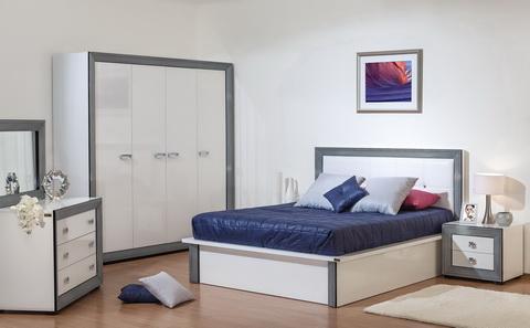 Коллекция мебели для спальни Даймонд Наоми