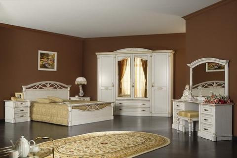 Коллекция мебели для спальни Элеганца