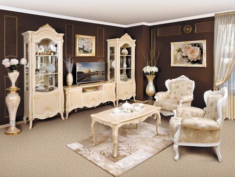 коллекция мебели для гостиной престиж, гостиная, мебель для гостиной, витрина, тумба тв, стол журнальный