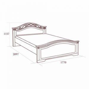 коллекция джоконда, кровать 160, кровать 180