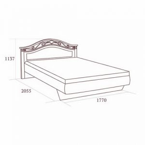 коллекция джоконда, кровать, кровать 160