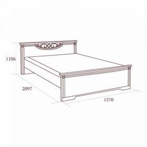 коллекция джоконда, кровать, кровать 140