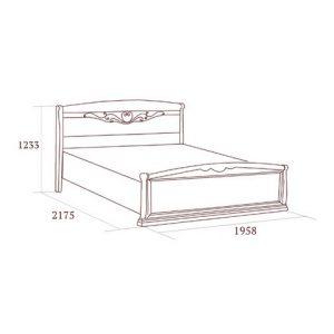 коллекция луиджи, кровать