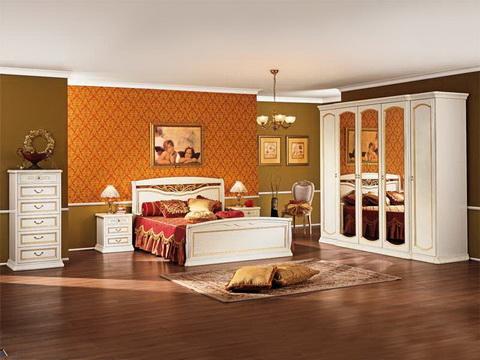 коллекция луиджи, кровать, шкаф, комод, тумба прикроватная