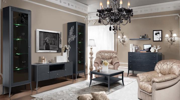 Коллекция мебели для гостиной Тиффани