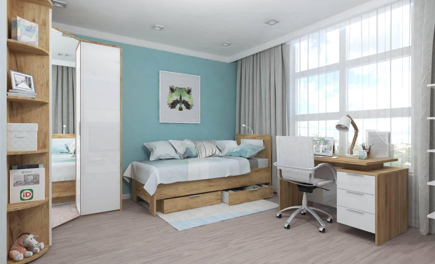 Коллекция мебели для детской (молодежной) комнаты Тоскано
