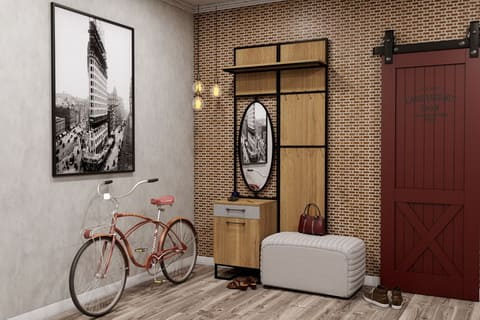 Коллекция мебели для прихожей Лофт