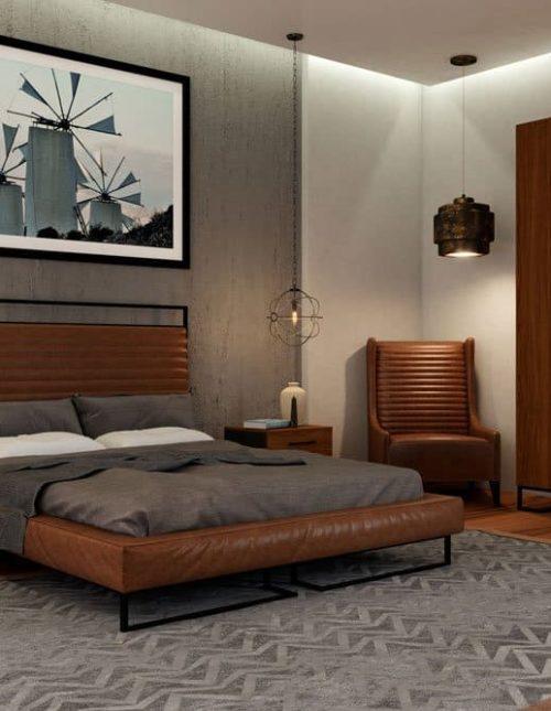 Коллекция мебели для спальни Лофт