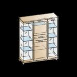 шкаф шк-2880