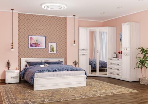 Коллекция мебели для спальни Бьянка